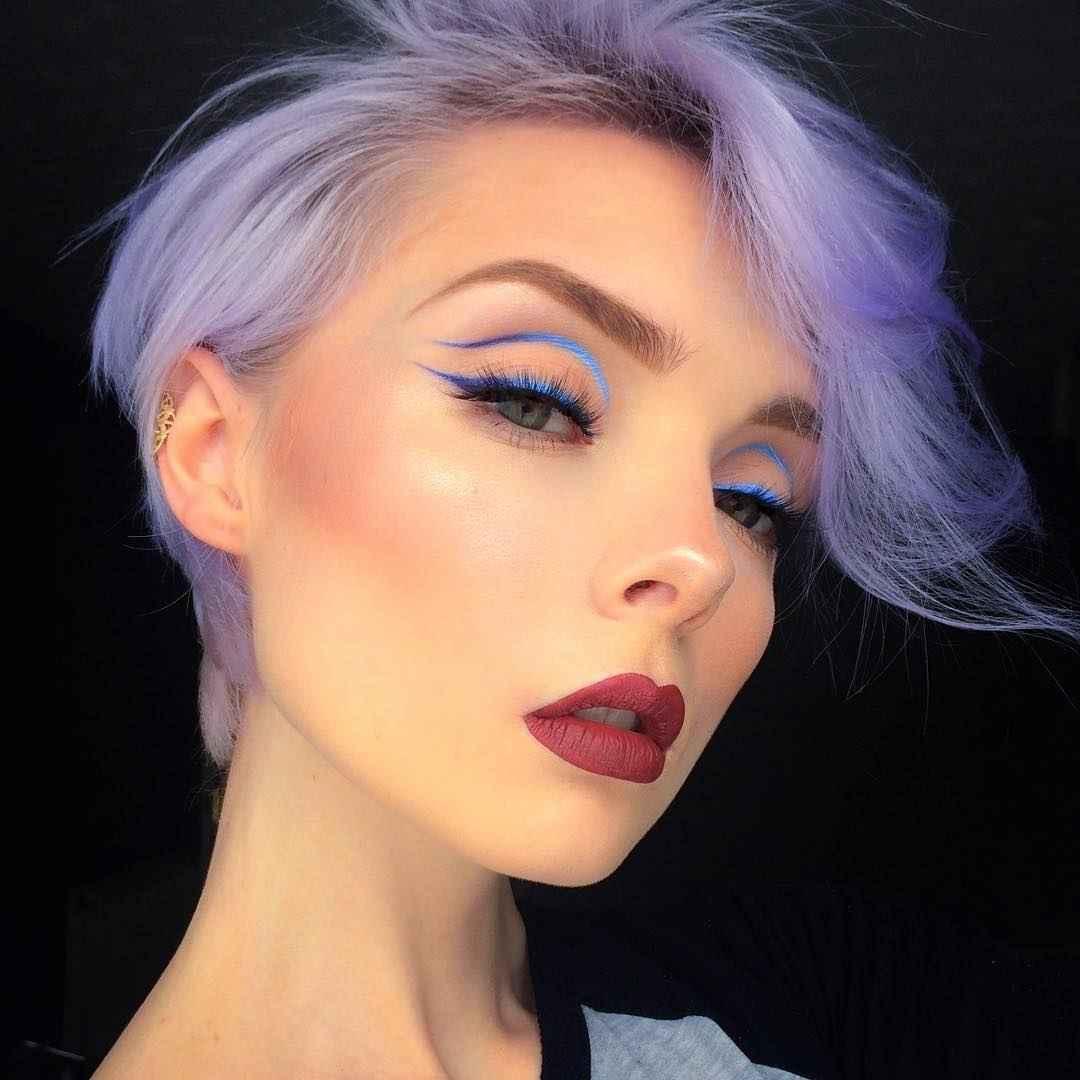 Яркий макияж на выпускной 2019-2020 фото_12