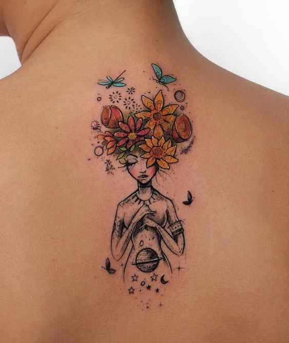 Сюрреалистичная татуировка фото_26