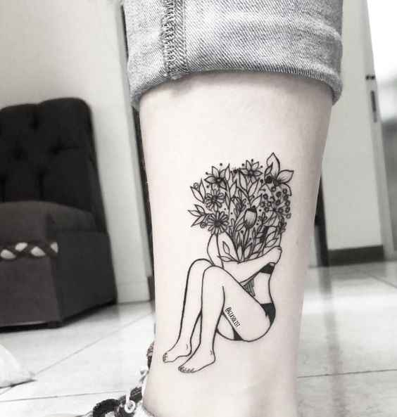 Сюрреалистичная татуировка фото_27