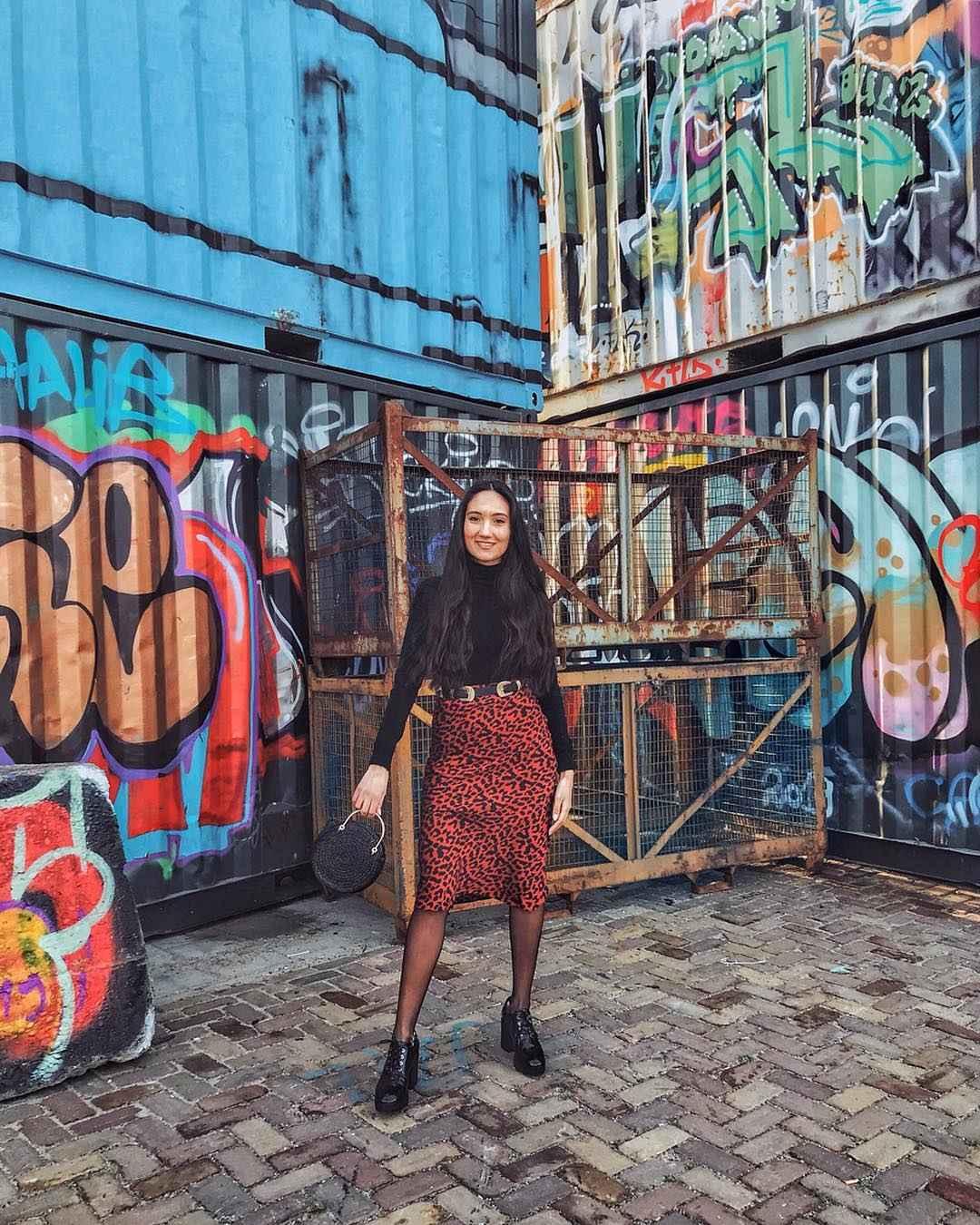 С чем носить леопардовую юбку карандаш фото_5