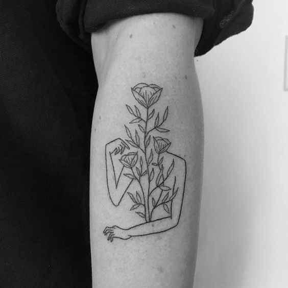 Сюрреалистичная татуировка фото_32