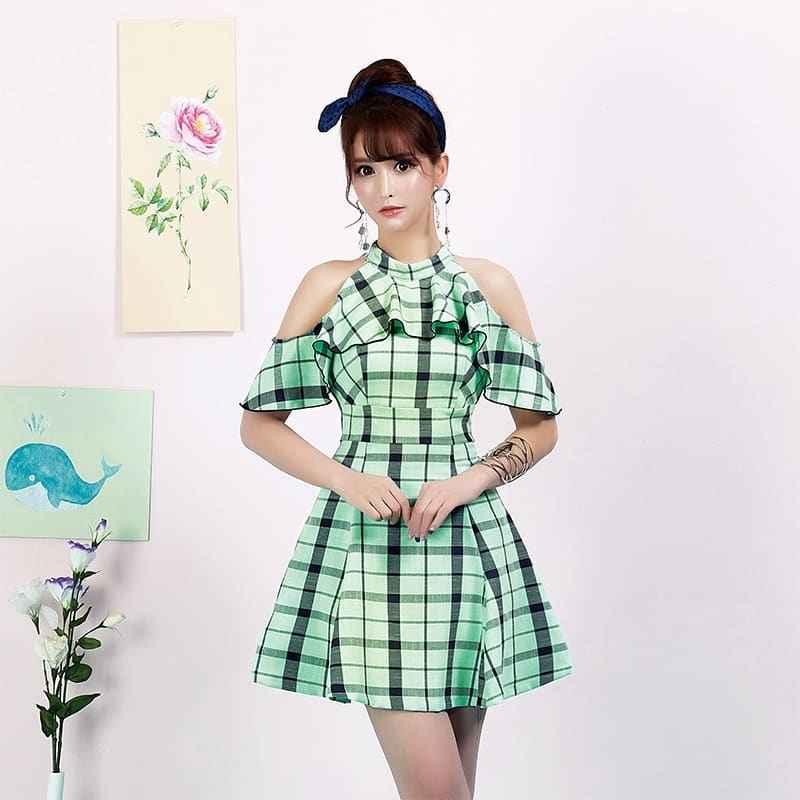 Платье в клетку фото_16