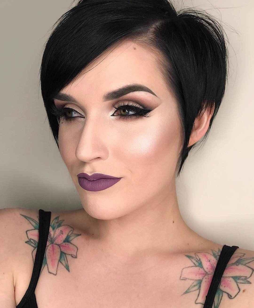 Вечерний макияж для темных волос и зеленых глаз_11