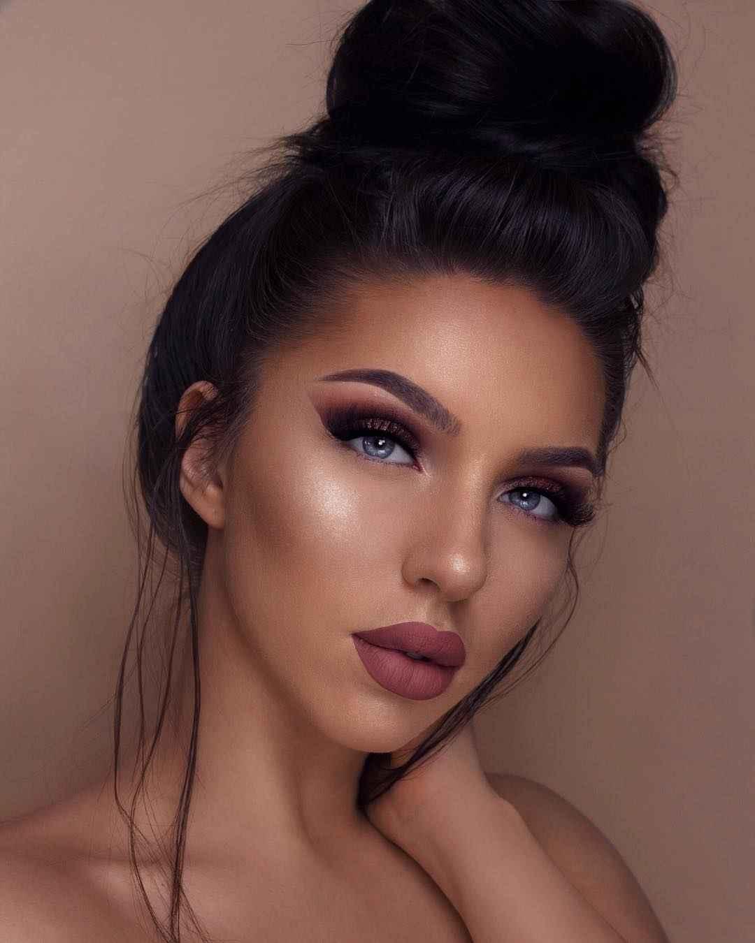 Красивый макияж на выпускной 2019-2020 фото_1