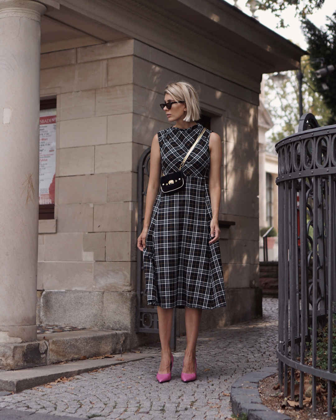 Платье в клетку фото_25