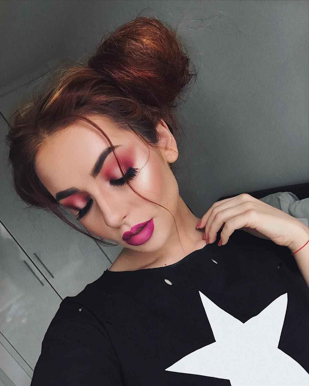 Яркий макияж на выпускной 2019-2020 фото_1