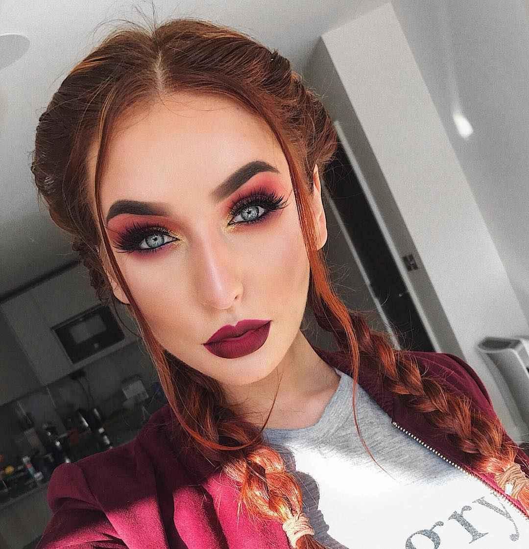 Красивый макияж на выпускной 2019-2020 фото_21