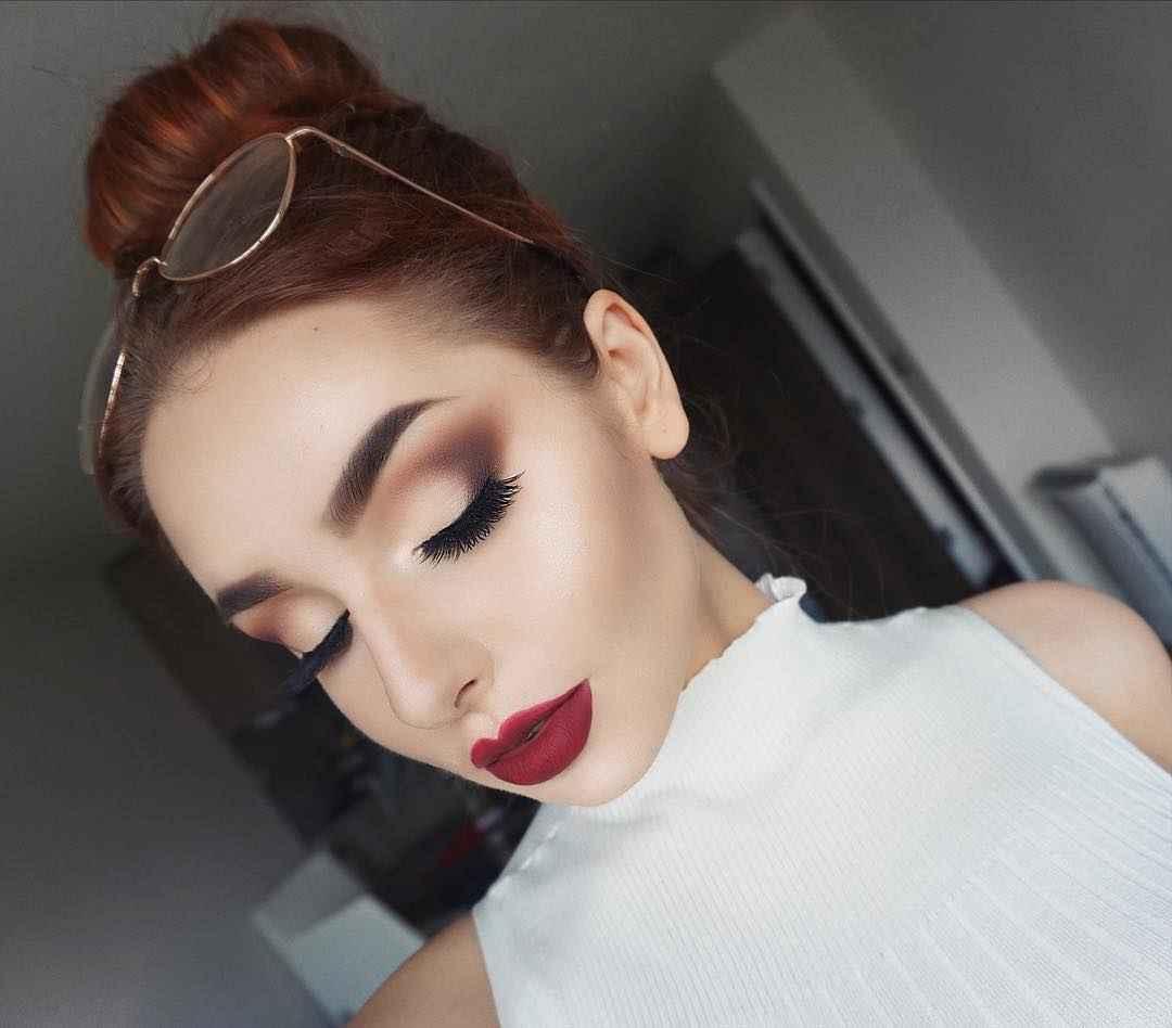Красивый макияж на выпускной 2019-2020 фото_19