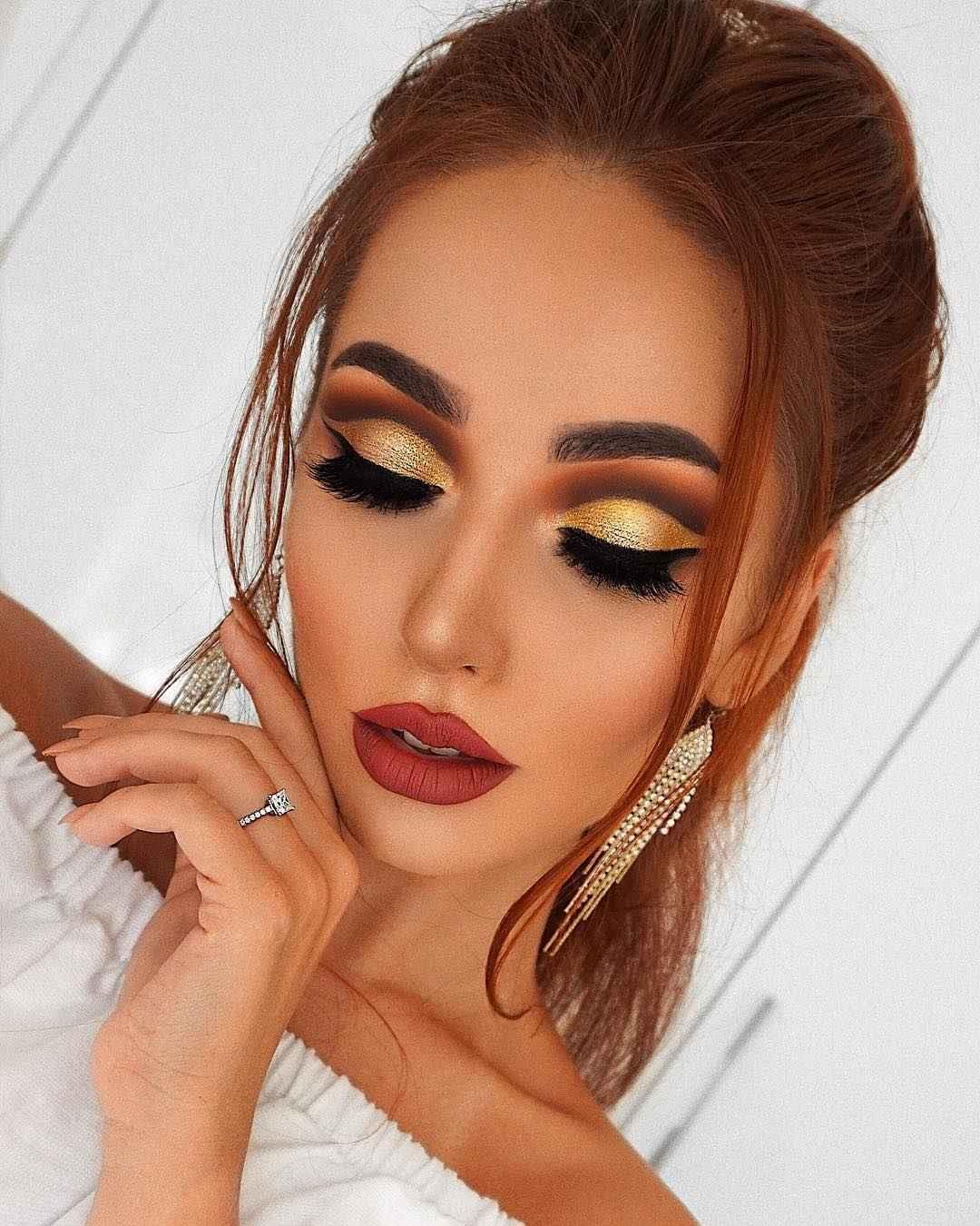 Яркий макияж на выпускной 2019-2020 фото_4