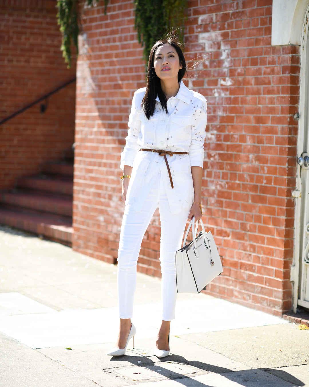 Модный офисный стиль 2019-2020 с брюками фото идеи_23