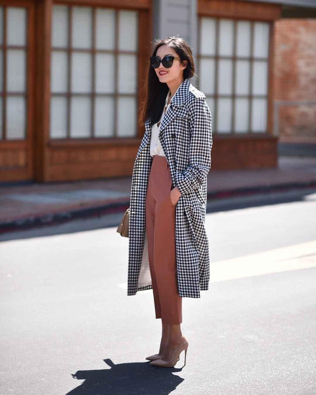 Модный офисный стиль 2019-2020 с брюками фото идеи_7