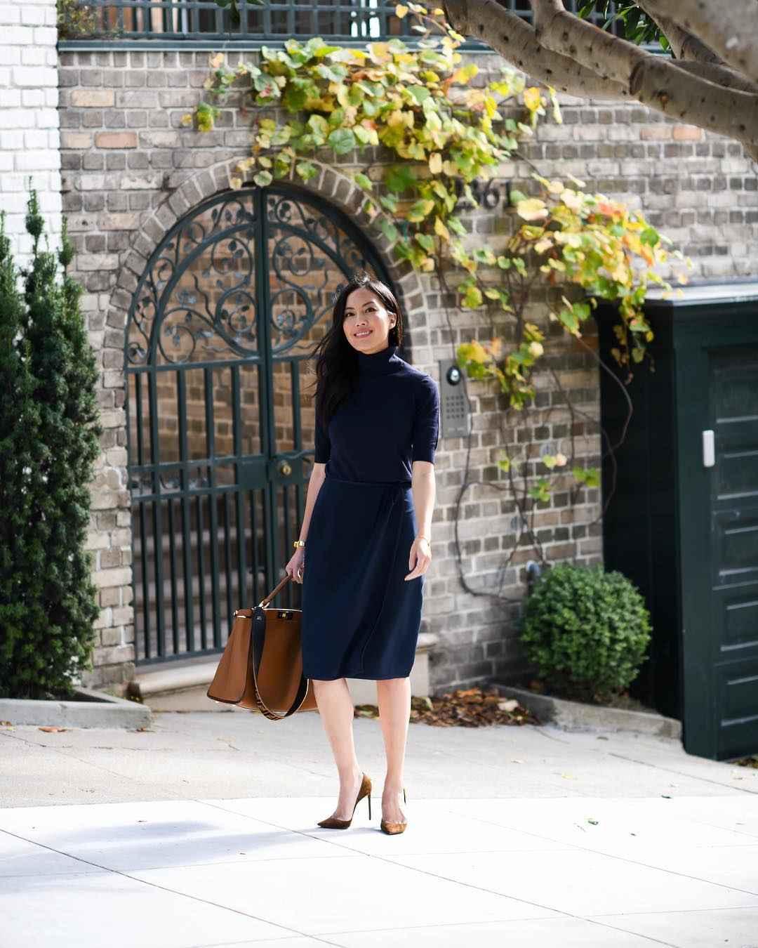 Деловые платья для женщин фото идеи_8