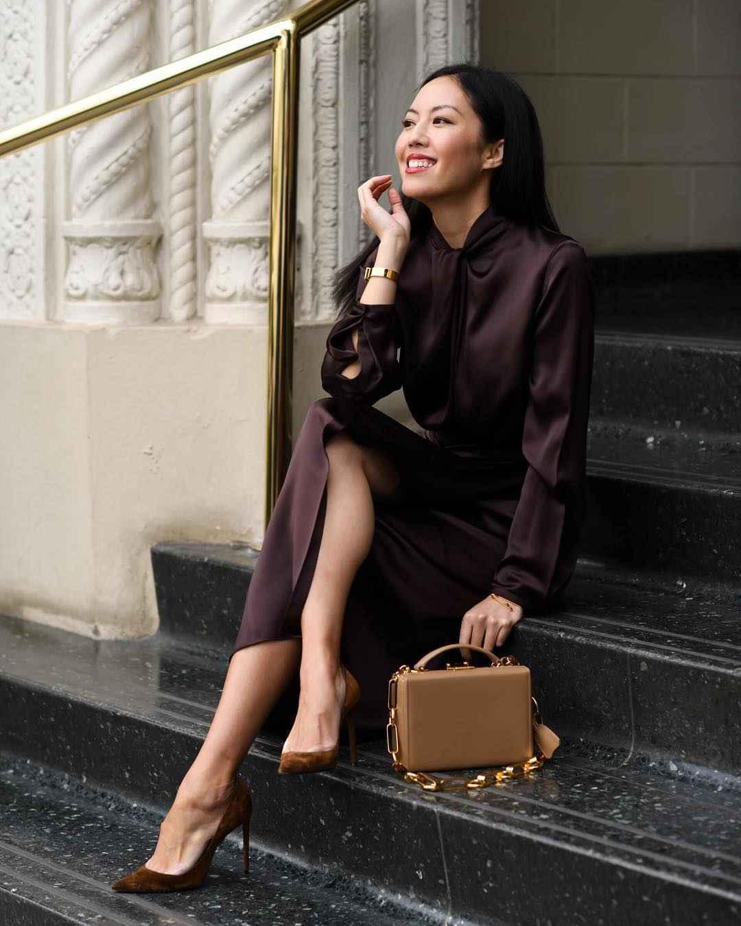Деловые платья для женщин фото идеи_12