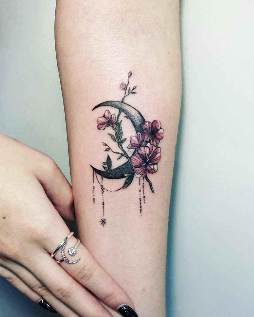 женское тату сакура фото_20