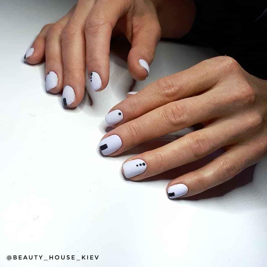 Пастельный маникюр на коротких ногтях фото_26