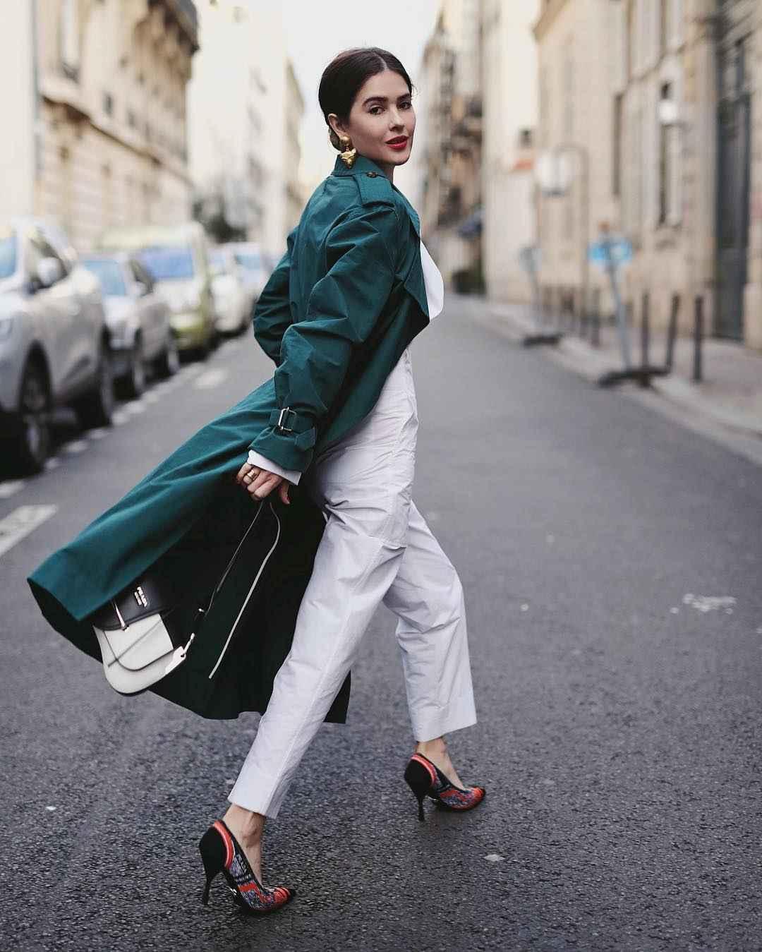 Модный офисный стиль 2019-2020 с брюками фото идеи_13