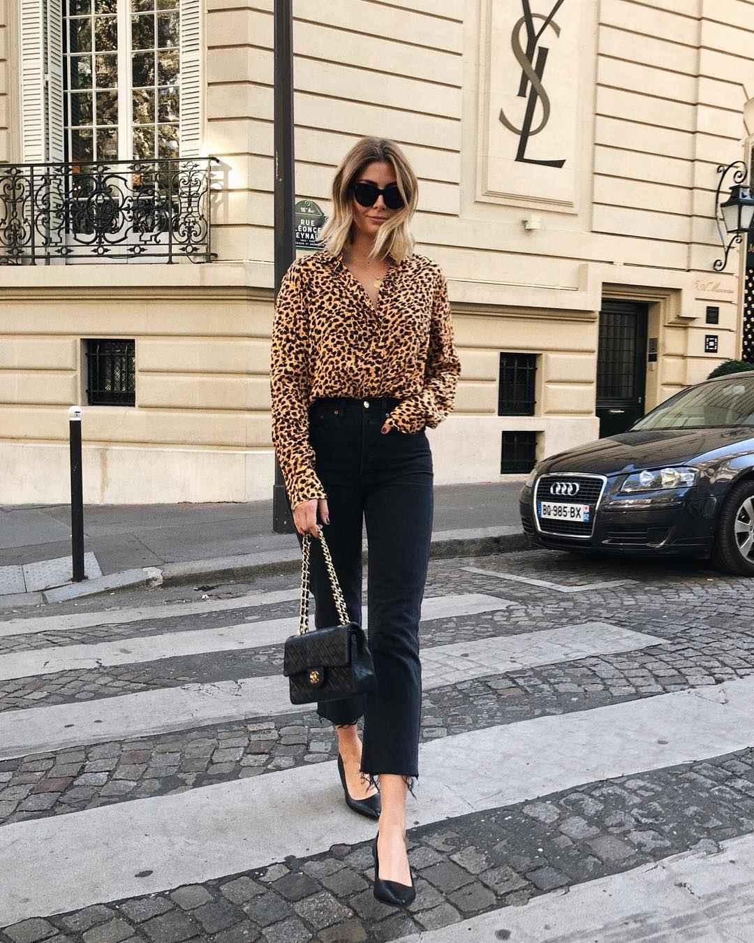 Модный офисный стиль 2019-2020 с брюками фото идеи_8