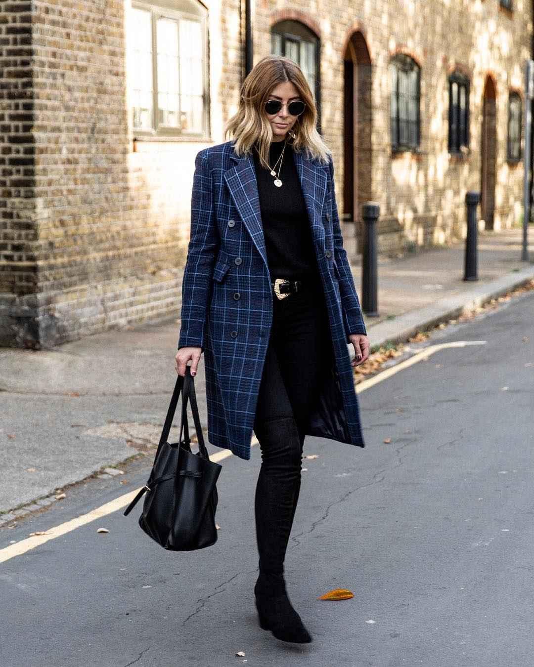 Модный офисный стиль 2019-2020 с брюками фото идеи_22
