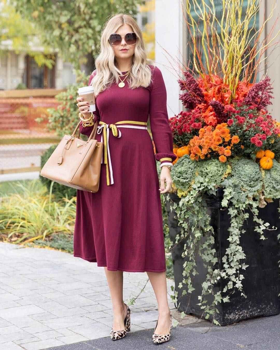 Деловые платья для женщин 40-50 лет фото идеи_3