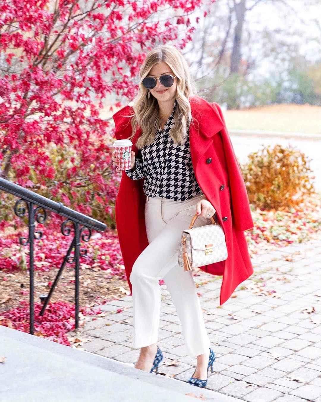 Модный офисный стиль 2019-2020 с брюками фото идеи_9