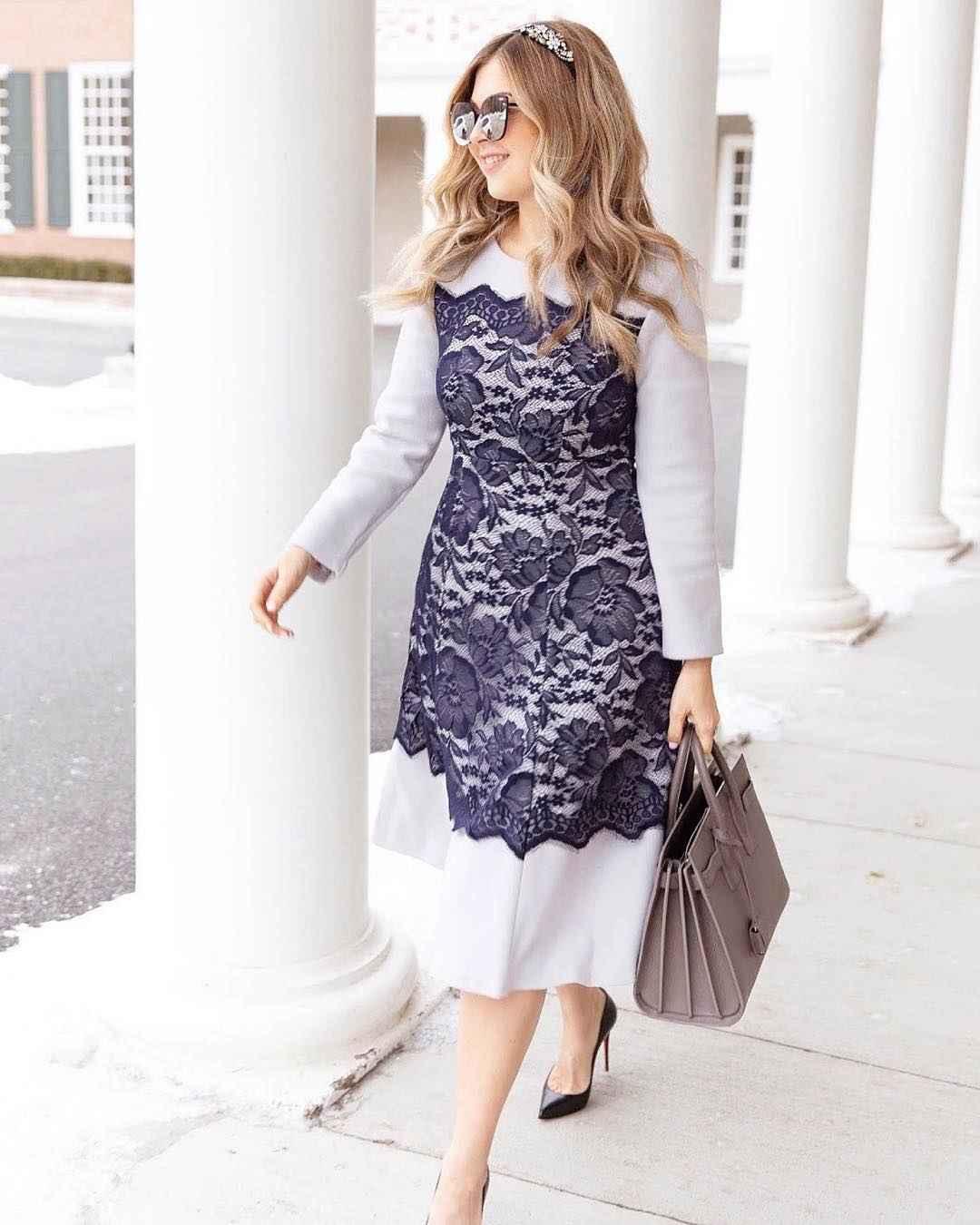 Деловые платья для женщин 40-50 лет фото идеи_1