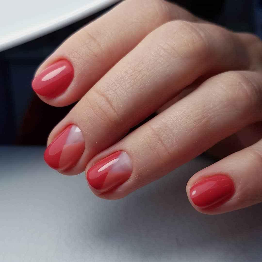 Пастельный маникюр на коротких ногтях фото_27