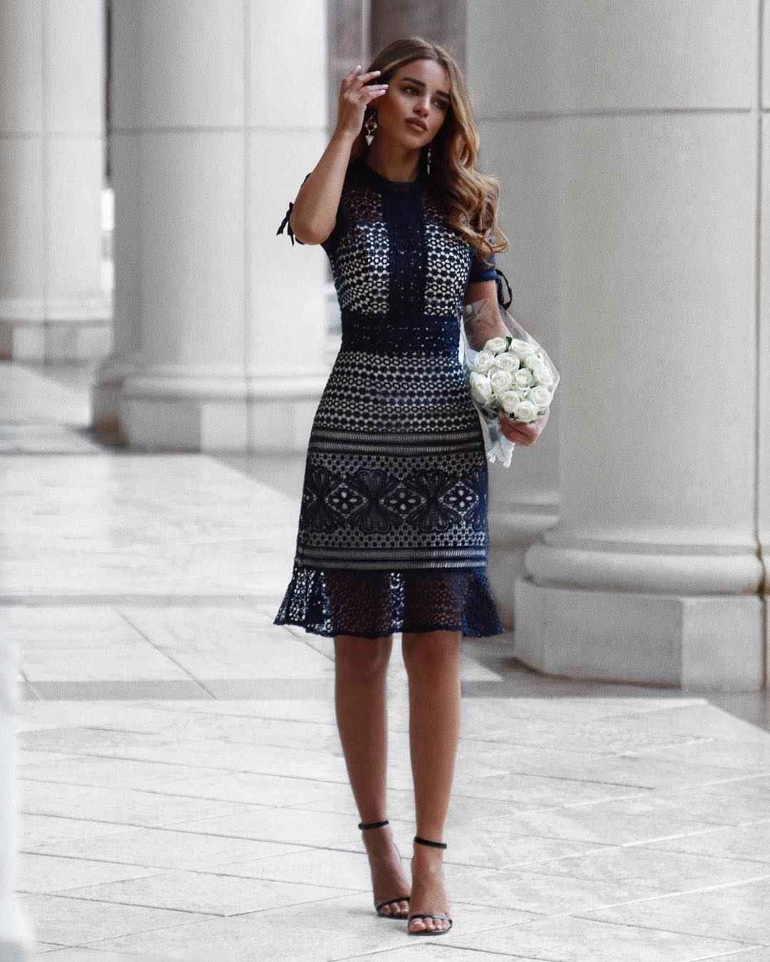 Деловые платья для женщин фото идеи_2