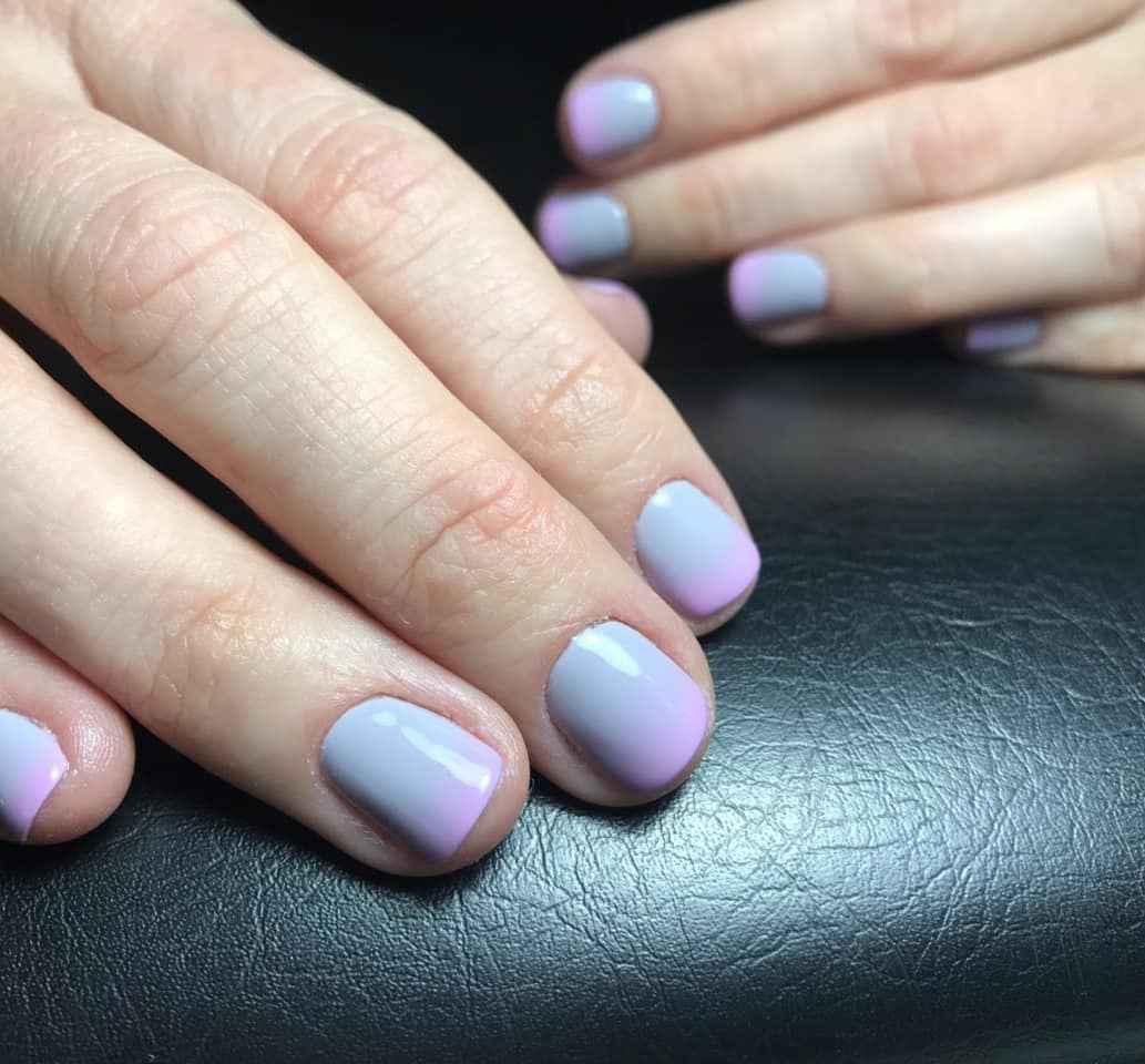 Нежный маникюр на короткие ногти весна 2019 фото_6