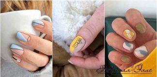 Пастельный маникюр на коротких ногтях фото