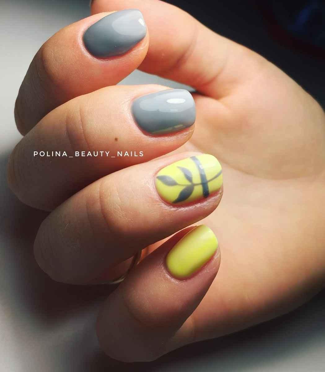 Пастельный маникюр на коротких ногтях фото_20