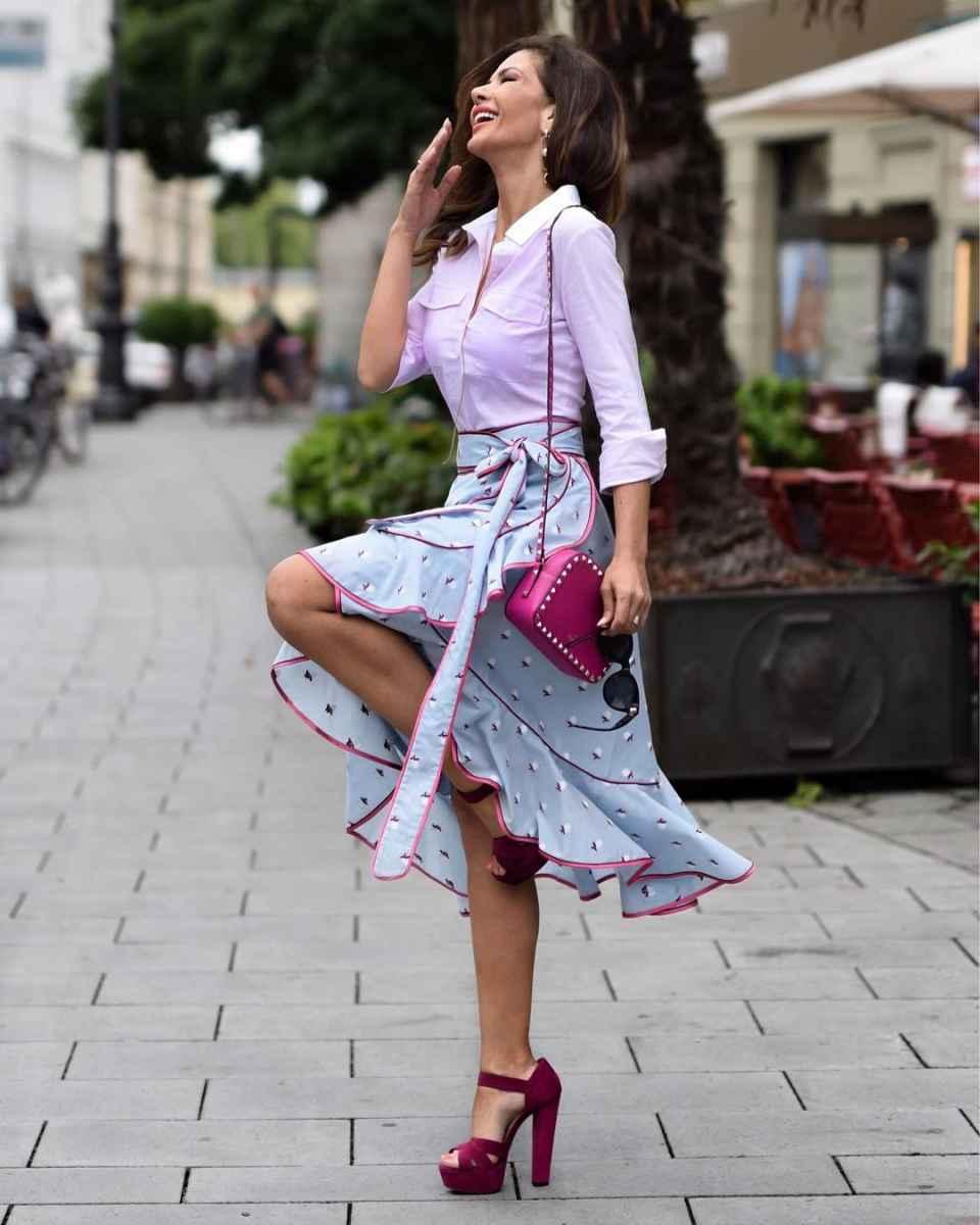 рубашки и блузы для женщин 40 лет 2019 фото_29