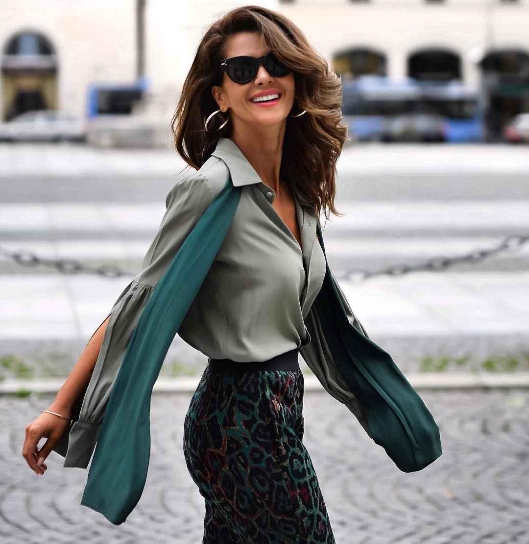 рубашки и блузы для женщин 40 лет 2019 фото_28
