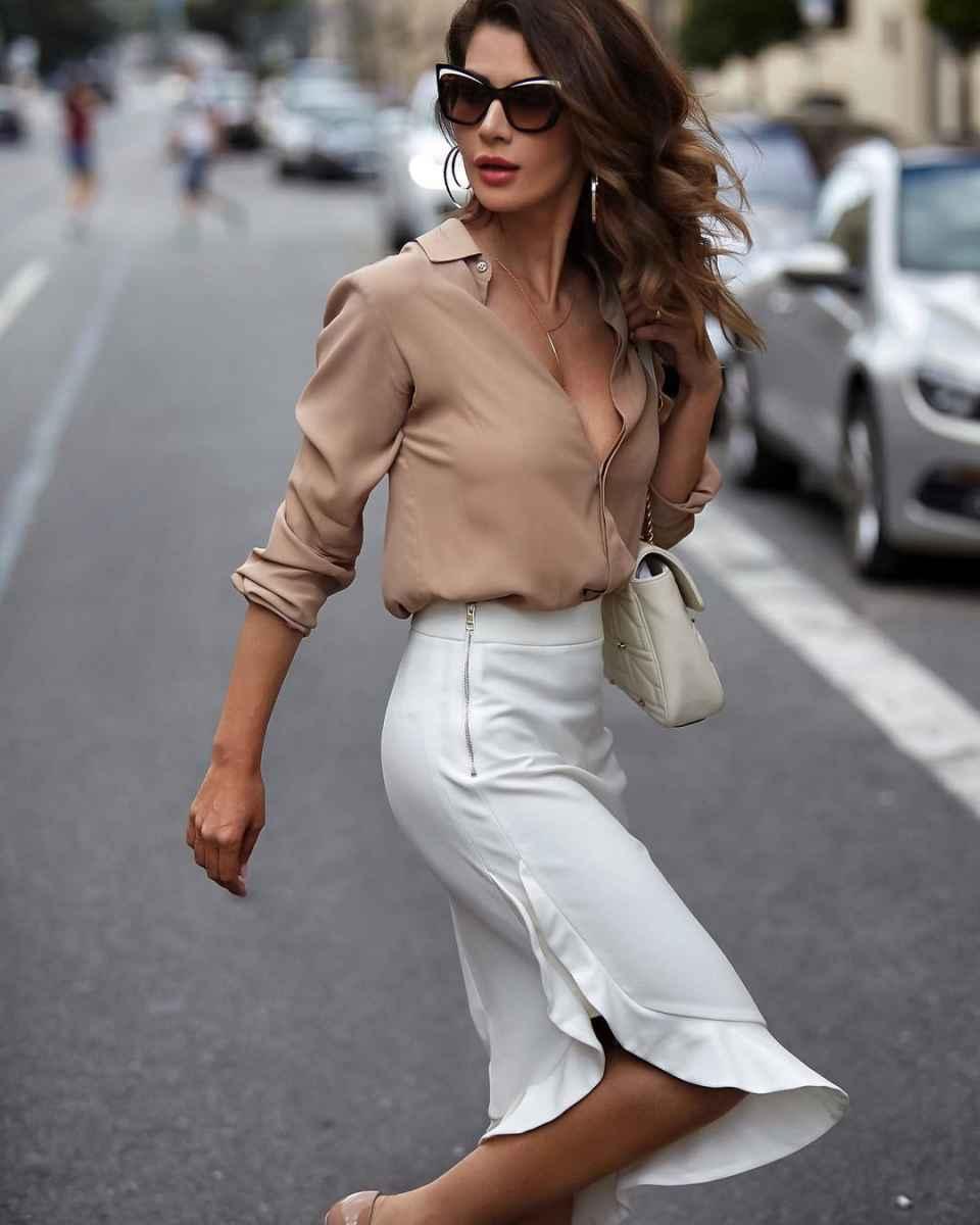 рубашки и блузы для женщин 40 лет 2019 фото_26