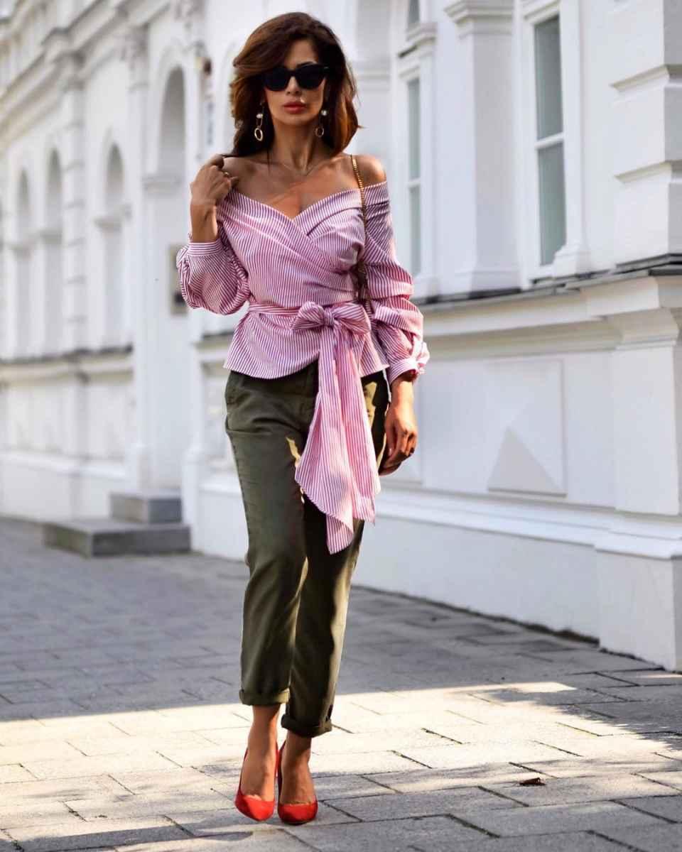 рубашки и блузы для женщин 40 лет 2019 фото_25