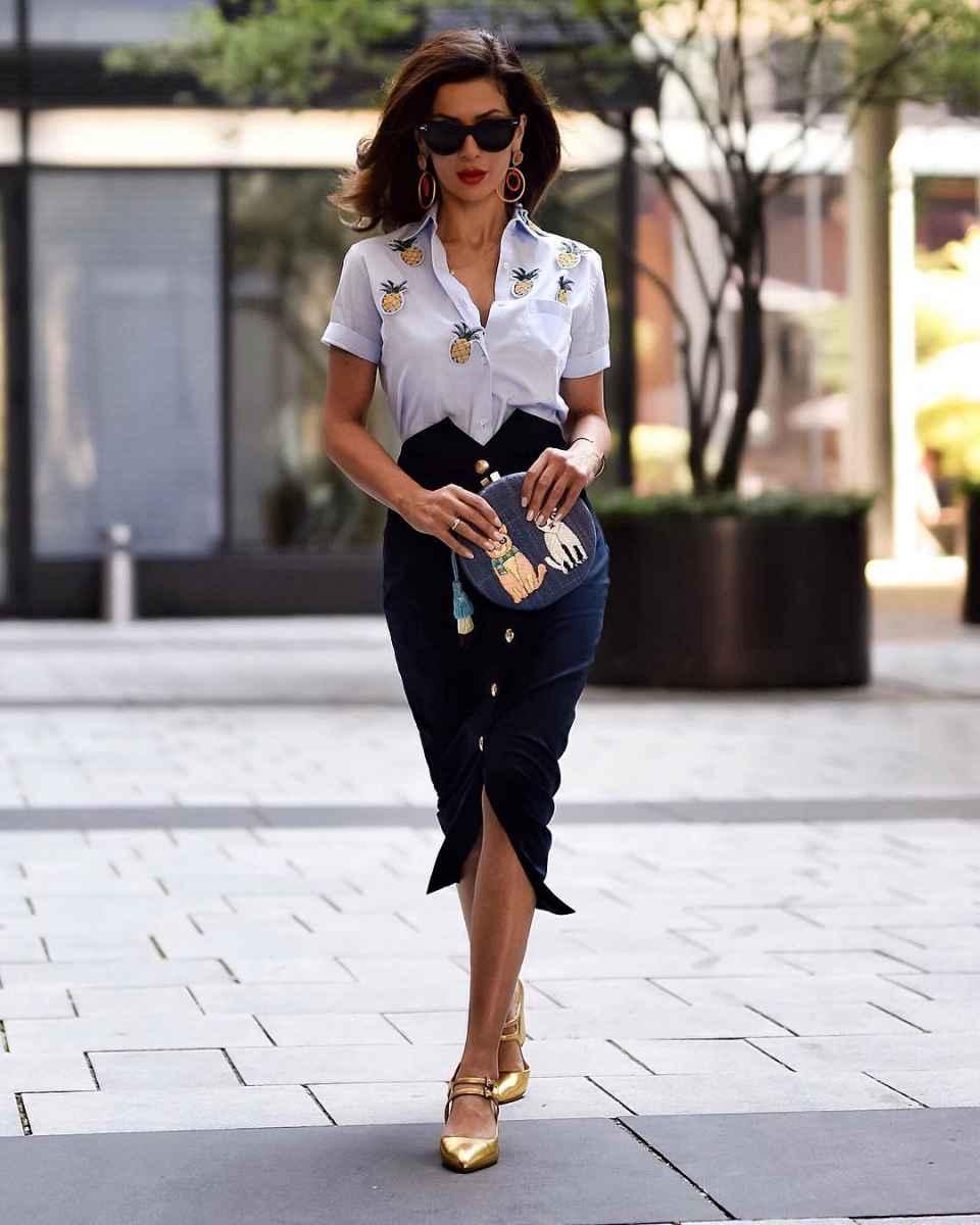 рубашки и блузы для женщин 40 лет 2019 фото_20