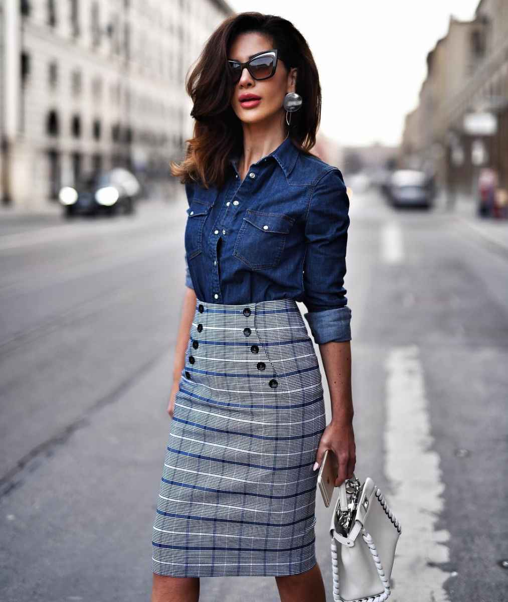 рубашки и блузы для женщин 40 лет 2019 фото_15
