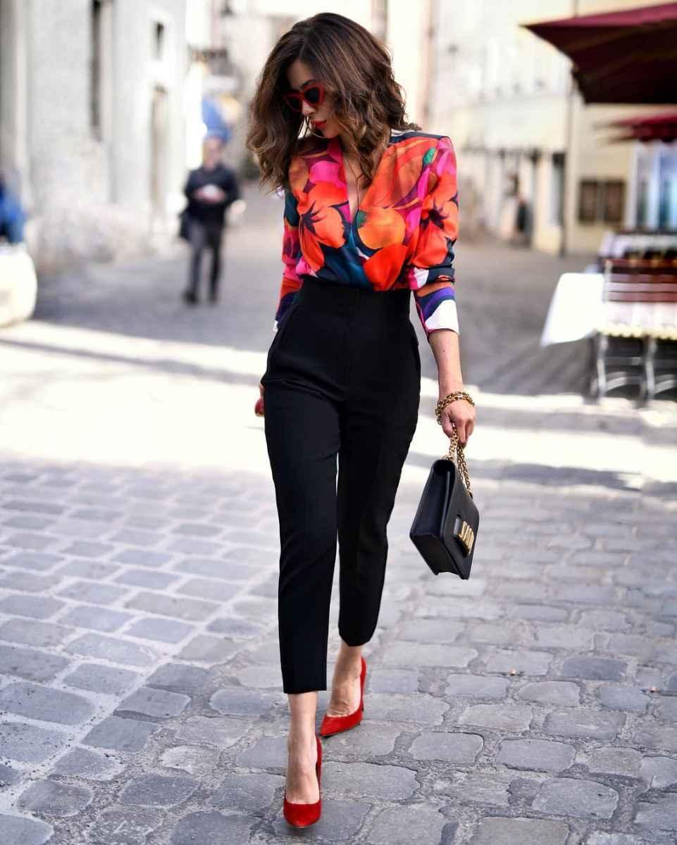 рубашки и блузы для женщин 40 лет 2019 фото_12