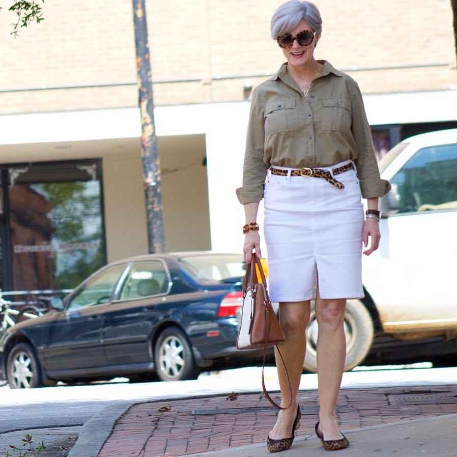 рубашки и блузы для женщин 50 лет 2019 фото_18