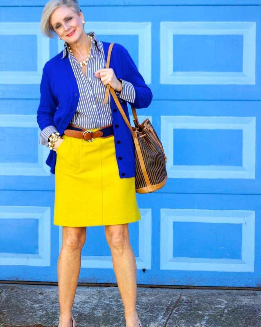 рубашки и блузы для женщин 50 лет 2019 фото_16