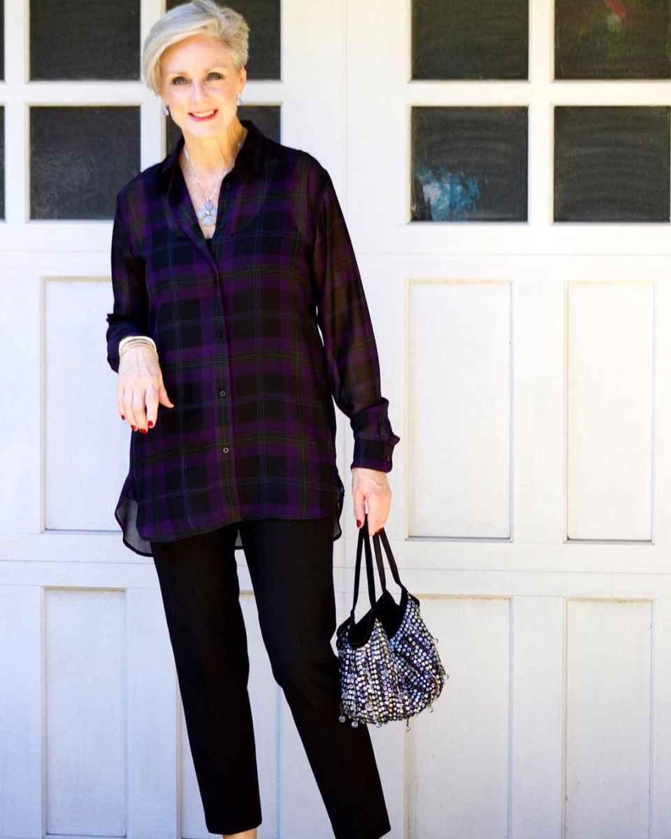 рубашки и блузы для женщин 50 лет 2019 фото_17