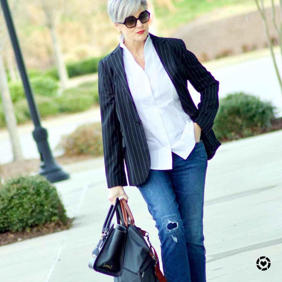 рубашки и блузы для женщин 50 лет 2019 фото_2