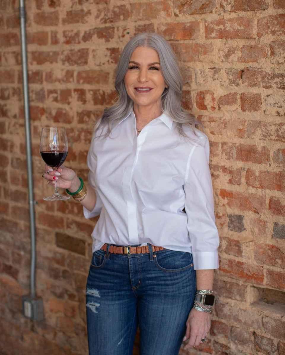 рубашки и блузы для женщин 50 лет 2019 фото_22