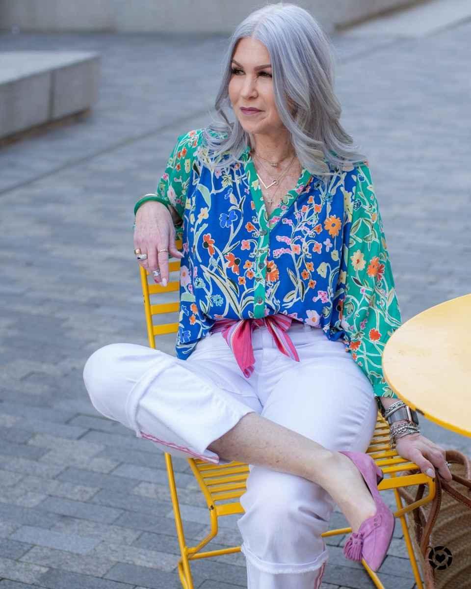 рубашки и блузы для женщин 50 лет 2019 фото_20