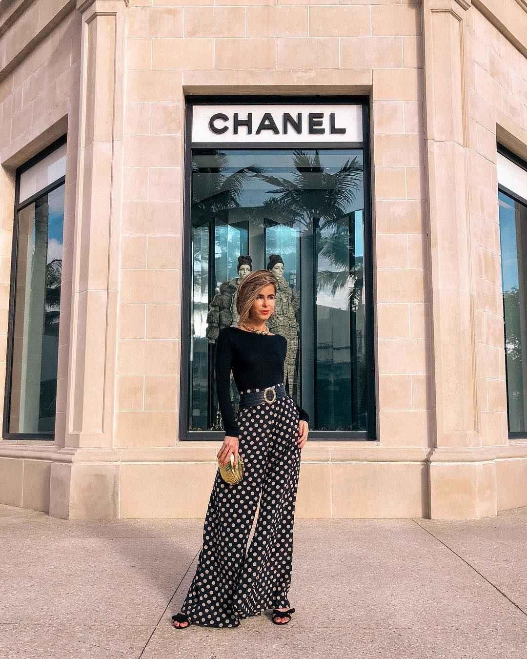 Модный офисный стиль 2019-2020 с брюками фото идеи_17