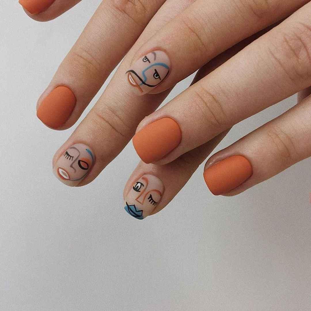 Маникюр на короткие ногти весна 2020 фото_49