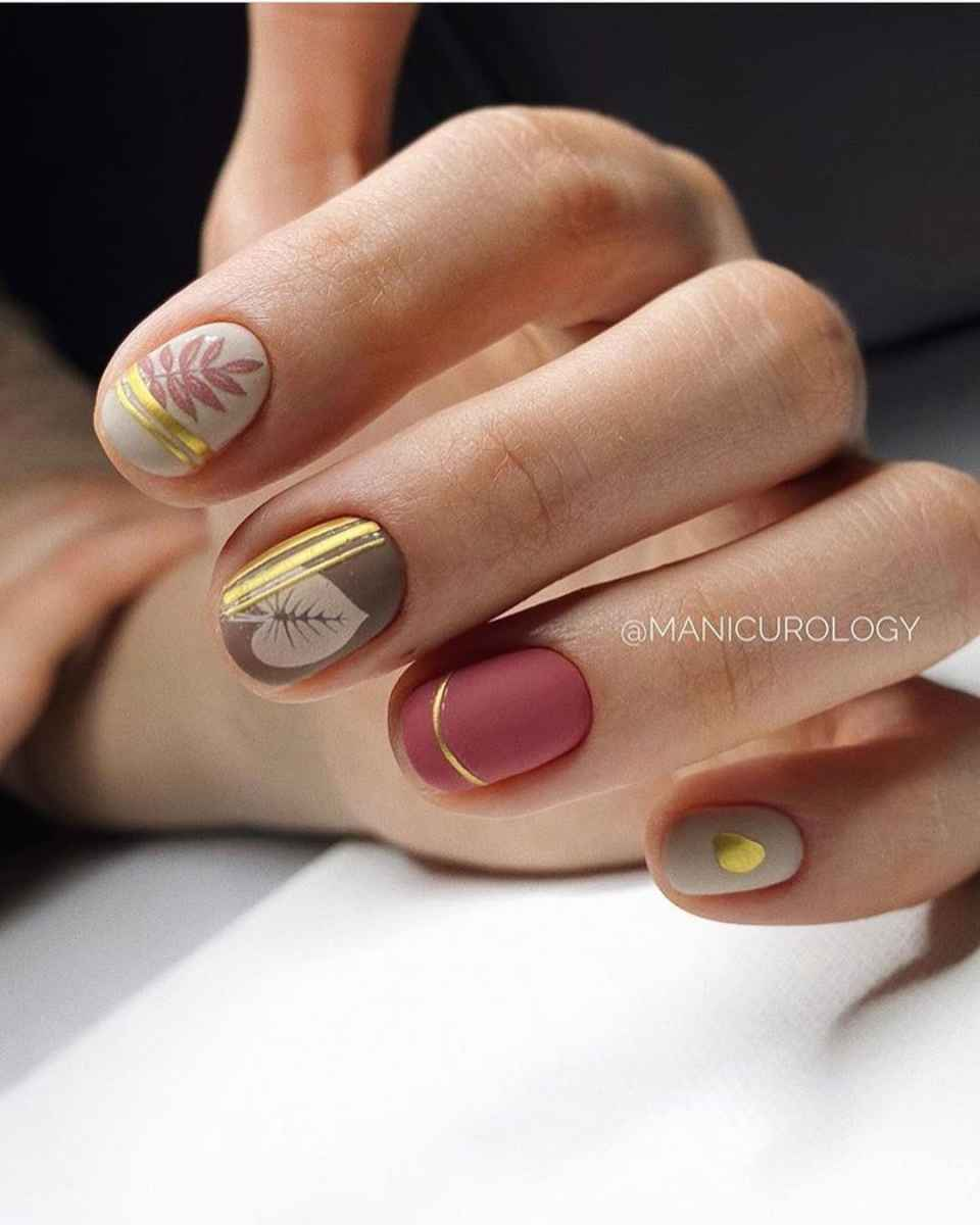 Маникюр на короткие ногти весна 2020 фото_44