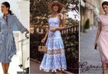 Модные платья лета 2019 для женщин 30-40 лет фото_1