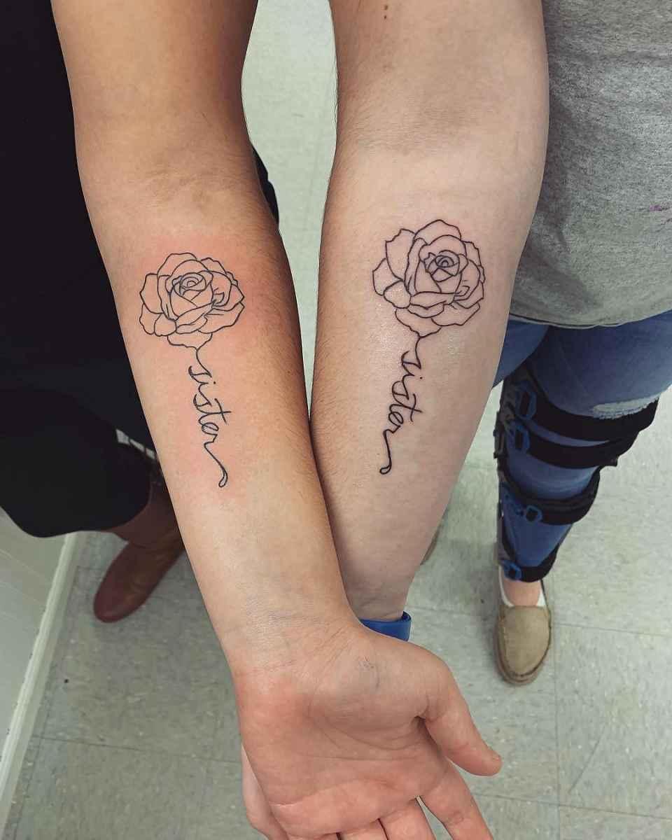 татуировки для сестер фото_10
