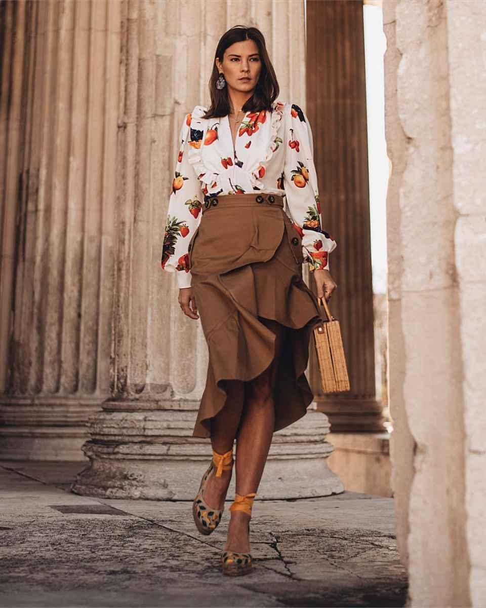 юбка с воланами фото_3