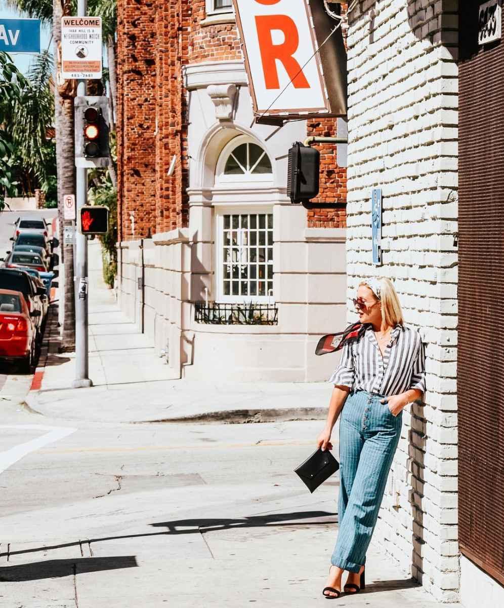 Брюки для женщин за 40 лето 2019 фото идеи_11